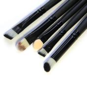 DATEWORK 5 Pcs Synthetic Kabuki Flat Foundation Brush