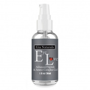 Pure, Natural and Organic Eye Gel, Serum, Cream. Superior Plant Based Silk Protein Amino Acid, MSM, Cucumber Blend. Reduces Puffiness, Dark Circles, Wrinkles. Anti-Ageing. Vegan Made in the USA