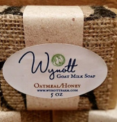 Oatmeal and Honey Goat Milk Bar Soap