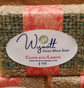 Goat Milk Soap Clove Bud and Lemon Scent