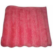 Better Homes and Gardens Extra-Absorbent Textured Towel Collection, Bath Towel, Bright Coral