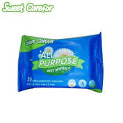 Sweet Carefor Unscented All Purpose Wet Wipes 1pack of 20 Count