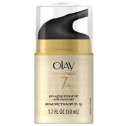 Olay Total Effects 7-in-1 Anti-Ageing Daily Moisturiser with Sunscreen, SPF 30, 50ml