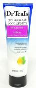 Dr. Teals Pure Epsom Salt Foot Cream, Moisturise & Soften, 240ml Per Tube