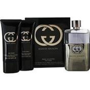 [Bella Bella Boutique] Guccí Guílty Men Gift Set Eau De Toilette Spray 90ml & Aftershave Balm 45ml & All Over Shampoo 45ml