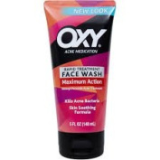 Oxy Acne Medication Rapid Treatment Face Wash with Maximum Action 180ml