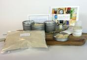 DIY Organic Sugar Scrub Exfoliant Maker Kit
