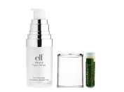 e.l.f. Mineral Infused Face Primer - Clear .47 fl.oz/14 mL with a Jarosa Beauty Bee Organic Peppermint Lip Balm