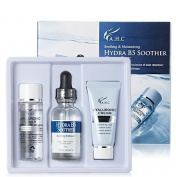 AHC Hydra B5 Soother Gift Set Increasing Dry, Rough Moisture of Skin Retention Ability for Enduring Softness [ Hyaluronic Toner 30ml + Hydra B5 Soother Serum 30ml + Hyaluronic Cream 30ml ]