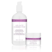 DERMAdoctor Calm Cool & Corrected Cleanser & Cream Duo