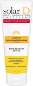 Solar D Sunscreen Face & Body SPF 30 Sunscreen, 120ml