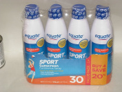 Equate Sport Sunscreen SPF30 Continuous Spray 4 Pack (710ml Total. Coppertone Sport