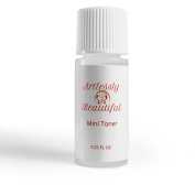 Mini Artlessly Beautiful Organic Facial Toner with Witch Hazel, Vitamin C and Lavender 100% Pure