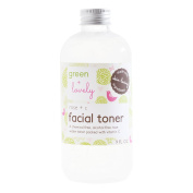 Rose + C Facial Toner. Rose water and Vitamin C packed. Alcohol Free. Plant based. Antioxidant Blend + Rejuvenating.