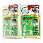 Dewytree by Black Sheet Mask - Ginseng Nutritiousk --10x30g30ml for WOMEN ---
