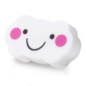 Dlife(TM) Cute Smile Cloud Design Light Sensor White Light LED Night light Softlight for Baby Room, Bedroom, Nursery, Outdoor