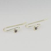 DIY fits European Pandora Jewellery 925 Sterling Silver Posts, Clear Cz