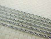 10m Stainless Steel Rope Chains Findings Fit for Jewellery Making & DIY