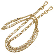 LGGE 10MM Flat Metal Iron Chain for Handbag Quality Purse Replacement Strap Chain DIY Accessories Shoulder Straps Light Gold