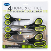 Home and Office Scissor Collection - 4 pc set - 4 lengths