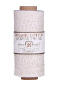 NATURAL Organic 1mm Bakers Twine 100% Cotton 2 Ply Hemptique Macrame Craft Artisan String