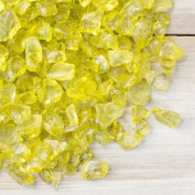 Vase Filler, Crushed Glass Pieces, 3.8kg, Assorted Sizes, Table Scatter, (Apple Green),