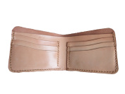wynnthaishop Astringent leather short wallet entirely handmade