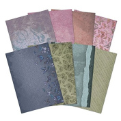 Hunkydory Flight of the Butterflies Jewelled Edition Printed Parchment 8-Sheets 110gsm