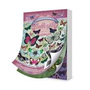 Hunkydory Flight of the Butterflies Jewelled Edition Little Book of Butterflies LBK134