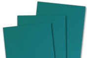 Blank Basis Teal 4x6 Flat Cards - 50 Pack