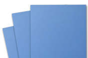 Blank Basis Medium Blue 4x6 Flat Cards - 50 Pack