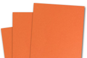 Blank Basis ORANGE 4x6 Flat Cards - 50 Pack