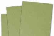Blank Basis Olive 4x6 Flat Cards - 50 Pack
