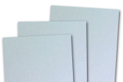Blank Basis Light Blue 4x6 Flat Cards - 50 Pack