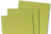 Blank Basis Golden Greenl 4x6 Flat Cards - 50 Pack