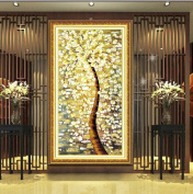 Kisstaker 89x50cm 5d Diy Diamond Embroidery Oil Painting Pattern Tree Murals Mosaic Picture With Rhinestones Round Crystals Cross Stitch