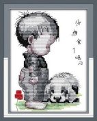 """Joy Sunday Cross Stitch kits, Are you homesick.,11CT Counted, 96cm×44 or 37.44""""×17.16"""""""