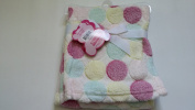 Little Mimos 80cm x 80cm Jacquard Baby Blanket, Assorted Colours