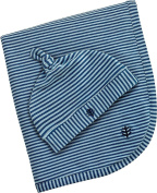 Coolibar UPF 50+ Baby Beanie Hat & Blanket Set - Sun Protective