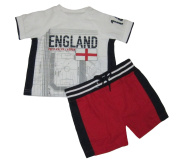 Ralph Lauren Polo Baby Boys England Football Tee & Shorts Set
