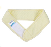 Cindy & Will 1Pc Yellow Practical Durable Pure Cotton Reusable Baby Cloth Nappy Fastener