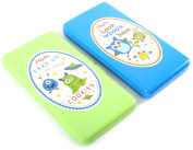 Enimay 2 Pack Reusable On The Go Designer Travel Size Baby Wipe Case Holder 2pack Blue | Green One Size
