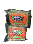 Boogie Wipes Fresh Scent-Gentle Natural Saline-Extra Soft-Total 2 Packages-Each with 30 Wipes