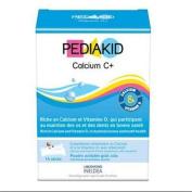 Calcium and Vitamin D3 for children, 14 envelopes, Pediakid