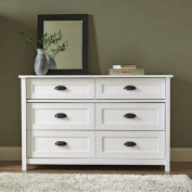 Better Homes and Gardens Lafayette Dresser, White Finish