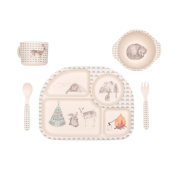 Bamboo 5pc Set Forest Feast