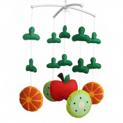 [Fresh Fruit] Baby Crib Mobile Music Box Holder with Toys