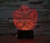 Starfish Hologram LED Night Light Lamp - Colour Changing