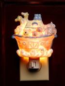 Cosmos Gifts 5653 Noah's Ark Plug In Night Light
