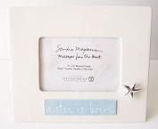 Sandra Magsamen Department 56 Blue ( Baby Boy ) Musical Ceramic Frame - A Star Is Born